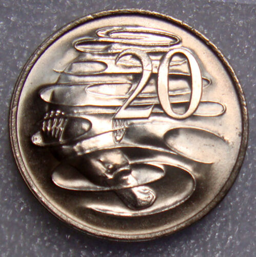 AUSTRALIA 1981 20 CENTS PLATYPUS UNCIRCULATED
