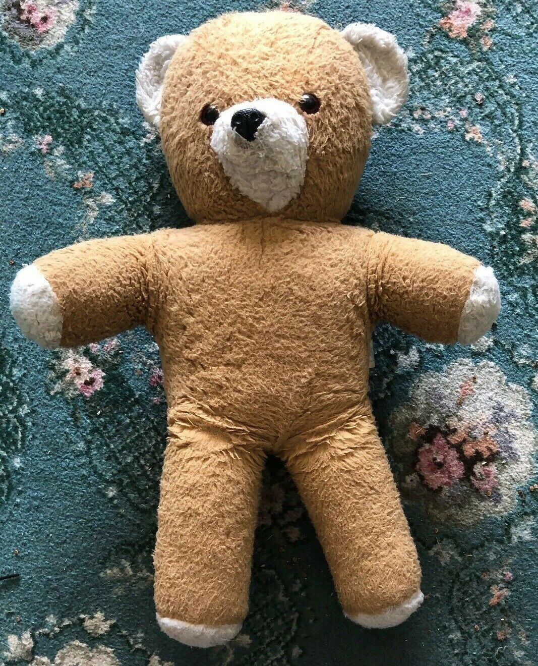 1960sChad Valley Teddy Bear With Label FB
