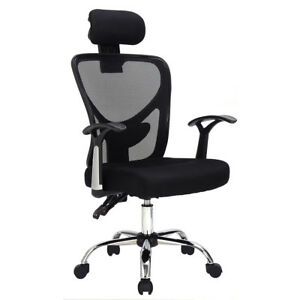 Image Is Loading Ergonomic Mesh High Back Office Chair Computer Desk