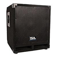 Seismic Audio - Powered 12 Pro Audio Subwoofer Cabinet - Pa / Band / Dj / Kj on sale