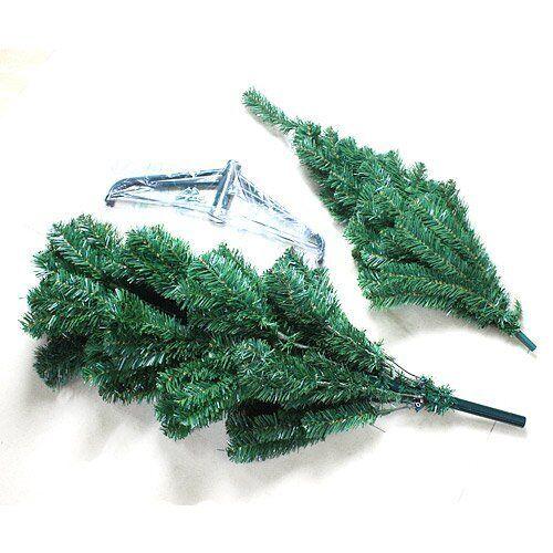 Vert Artificiel Canadien sapin grande Arbre de Noël environ 1.83 m 6 FT