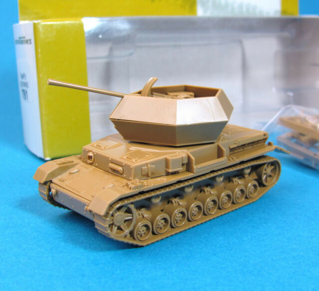 Minitanks H0 791 FLAK-PANZER OSTWIND EDW WWII Wehrmacht HO 1:87 tank Roco Herpa