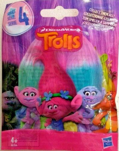Hasbro Dreamworks Collectable Trolls Blind Bag Series 4 Surprise Mini Figure