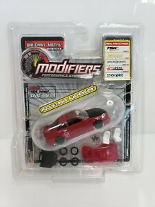 Modifiers-1999-Honda-Civic-Si-Red-Series-2-1-64-HTF