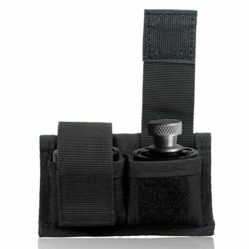 2pcs Tactical Waist Magazine Pouch for Universal Double Speed Loader Belt Pouch