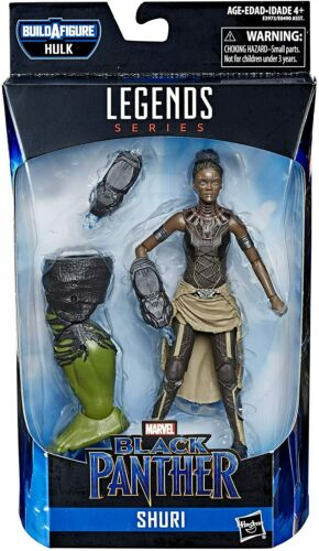 "Marvel Legends Series Black Panther Shuri 6/"" Collectible Figurine Jouet"