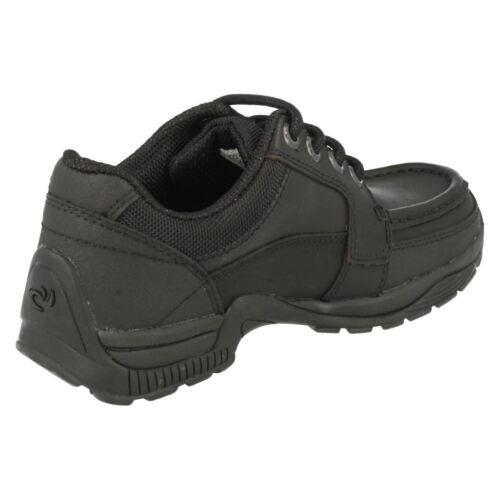 Startrite Garçons À Rhino Lacets École Dylan Noir Chaussures Cuir OaSqwZ