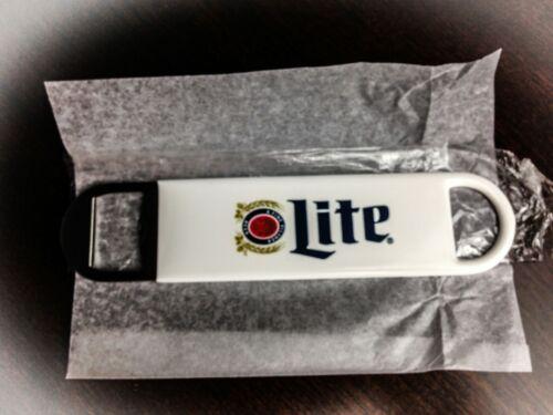 Miller Lite Heritage Logo Pilsner Bartender Beer Bottle Bar Opener Rubber//Metal