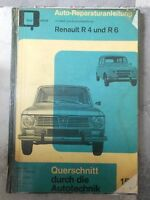 original REPARATURANLEITUNG RENAULT R4 & R6 BUCHELI 153 OLDTIMER HARDCOVER