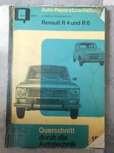 original-REPARATURANLEITUNG-RENAULT-R4-amp-R6-BUCHELI-153-OLDTIMER-HARDCOVER