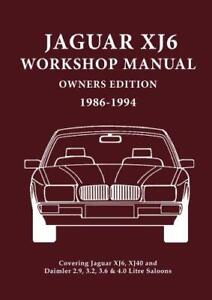 Jaguar-XJ6-Workshop-Manual-Owners-Edition-XJ40-Covers-All-2-9-3-2-3-6-and-4