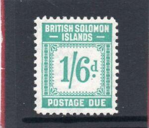 Br-Solomon-Isles-GV1-1940-postage-due-1s-6d-sg-D8-H-Mint