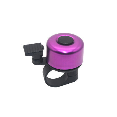 Mini Bicycle Handlebar Horn Children Scooter Ring Mountain Bike Bell Cycling Red