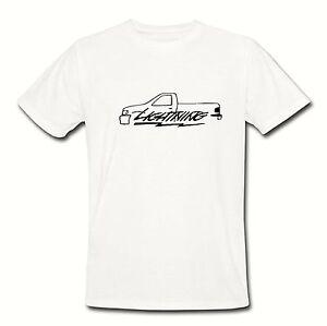 71bcc333a Lightning F-150 T Shirt Tee S M L XL 2XL truck muscle racing f150 ...