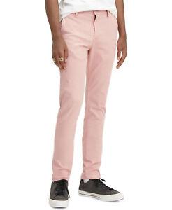 NWT Levi's 29x30 XX Chino Standard Taper Pants Stretch Rose Tan NEW