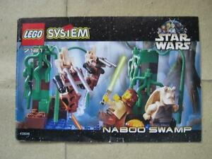 LEGO-Star-Wars-NABOO-SWAMP-7121-Instruction-Manual