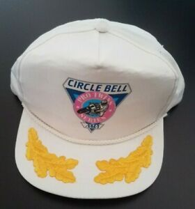 Vintage Hat 1990 Circle Bell Pro Twins Motorcycle Never Worn Superbike GP1 AMA