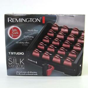 Image Is Loading Remington T Studio Silk Ceramic Hot Rollers H