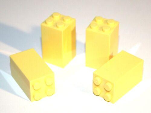 4x LEGO® Stein 2x2x3 30145 NEU Hell Gelb Bright Light Yellow