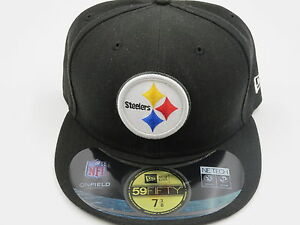 1fa5aac64ef Image is loading New-Era-Pittsburgh-Steelers-NFL-Sideline-59Fifty-Black-