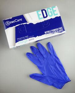 NITRILE Gloves Disposable Exam Gloves Powder Free 100 Pcs Blue XL Fast Ship New