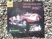 Wrebbit Built Art mercedes Benz 500k Puzzle Craft Kit... ...