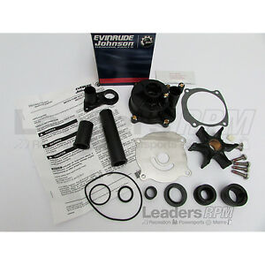 Evinrude/Johnson New OEM ETec 75-250hp Water Pump & Impeller Repair Kit 5001595
