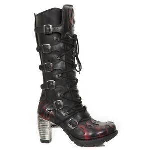 Rock New Black S1 Nr Trail Women M red tr138 Boots 1qwqd7