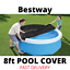 miniature 2 - BESTWAY POOL COVER 8ft Foot / 2.44m FAST SET SWIMMING ROUND PADDLING