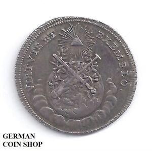 Silberabschlag-vom-1-1-4-Dukat-Kroenung-von-Josef-II-1764-Frankfurt-Osterreich