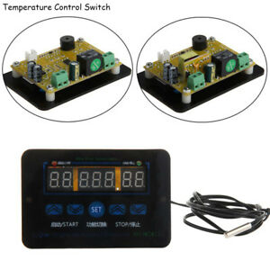 Details about 12/220V 10A Digital LED Temperature Controller Thermostat  Control Switch Probe e
