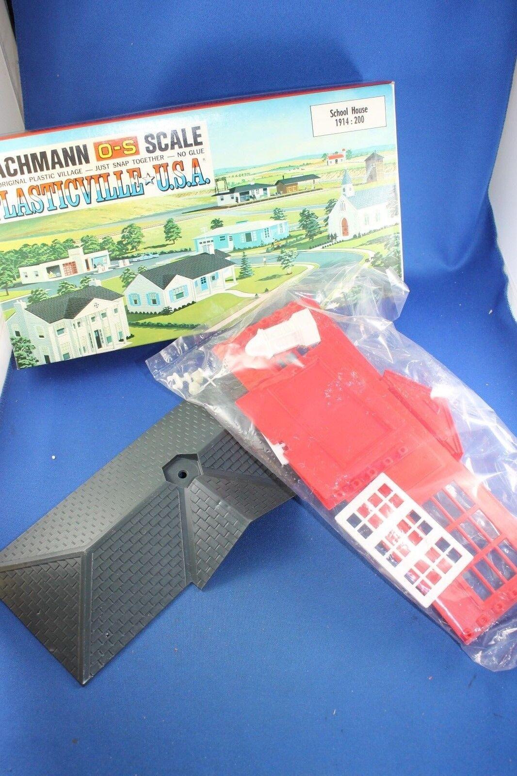 Plasticville - O-O27 - School House - Sealed Bag - Complete