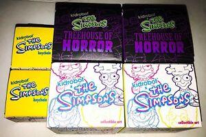 Kidrobot Series 2 Simpsons Blind Box Extraterrestres Aliens Kang Kodos brillent dans Dark