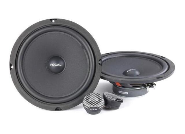 """Focal ISU200 8"""" 20cm Car Component Speaker Set 160w 1 PAIR"""