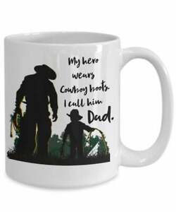 Gift-For-Dad-Father-039-s-Day-Mug-For-Dad-Cowboy-Dad-Gift-For-Rancher-Gift
