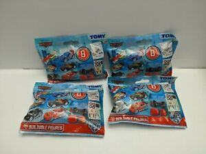 Bundle-of-4-x-Disney-Cars-Ice-Racers-Buildable-Figure-Blind-Bags-Brand-New