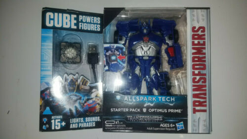 Ensemble de figurines Transformers Allspark Tech - Optimus Prime, Bumblebee, Hound