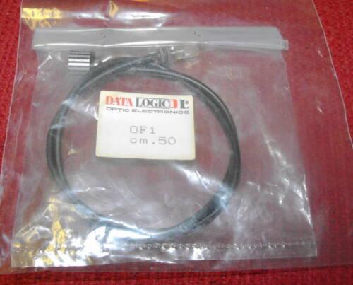 NEW DataLogic Model #OF1 cm.50 Fiber Optic Light Guide