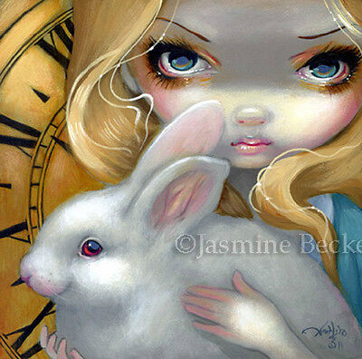 Fairy Face 141 Jasmine Becket-Griffith SIGNED 6x6 PRINT