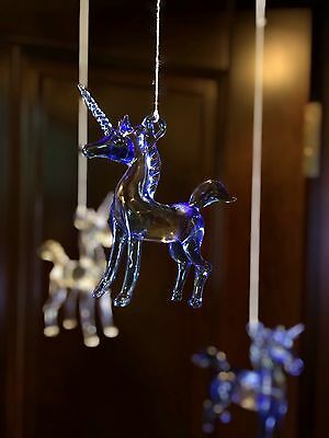 Unicorn ornament set of 6