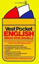 Vest Pocket English: Ingles en el Bolsillo