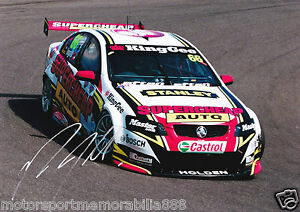 Russell-Ingall-Signed-6x4-or-8x12-Photo-PRINT-V8-Supercars-HOLDEN-HRT-SUPERCHEAP