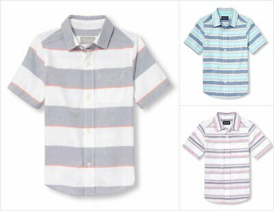 The Childrens Place Baby Boys Toddler Oxford Button Down Shirt