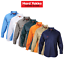 Mens-Hard-Yakka-Long-Sleeve-Cotton-Drill-Work-Shirt-Tradie-Safety-Button-Y07500 thumbnail 1