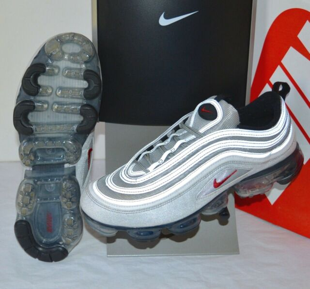 sports shoes 00193 5a6b3 Nike Air Max Vapormax 97 Silver Bullet Varsity Red SNEAKERS 2018 Mens Size  11.5