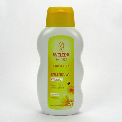 (4,48/100ml) Weleda Calendula Pflegeöl Parfümfrei vegan 200 ml