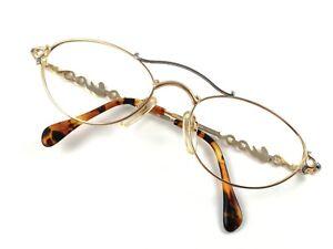 CHRISTIAN-LACROIX-Brille-6302-009-Crazy-Vintage-Eye-Frame-Fancy-Eyeglasses-NOS