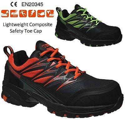 Ausdauernd Mens Lightweight Safety Trainers Work Boots Composite Toe Cap Sbp Src Shoes Size Die Neueste Mode