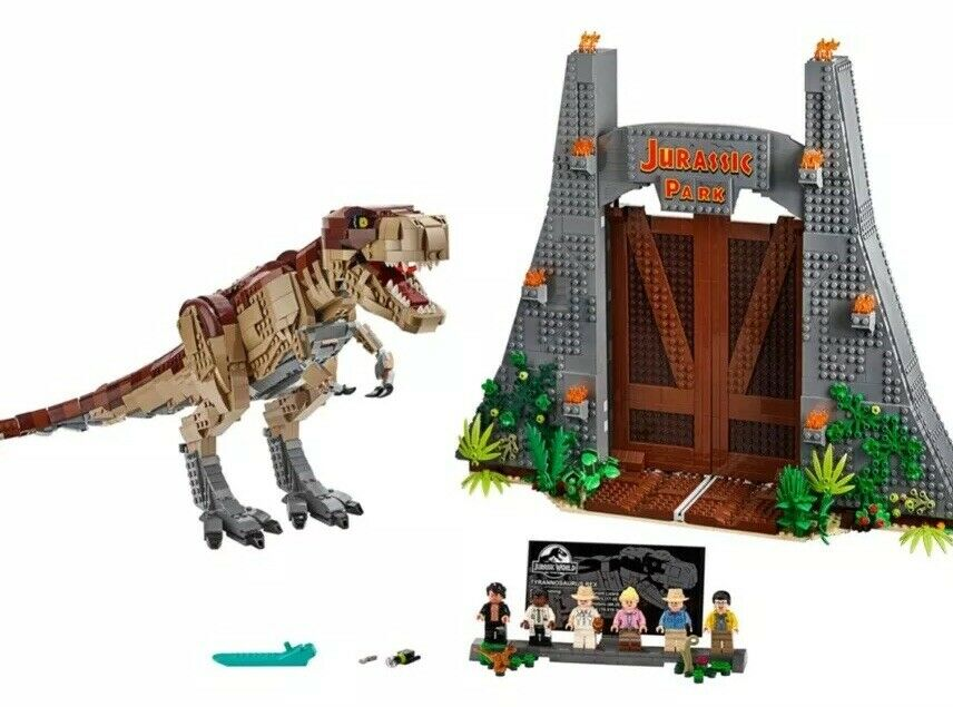 LEGO 75936 Jurassic Park  T. rex Rampage FREE SHIPPING