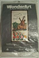 Wonderart Crewel Embroidery 10x20 Stitchery Picture Kit 5315 Windmill